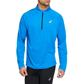 asics Icon Langarm 1/2 Zip Oberteil Herren directoire blue/performance black